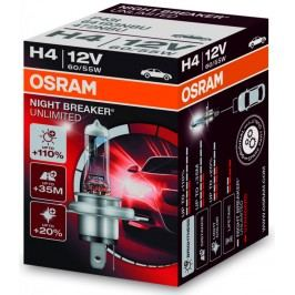 Autožárovka Osram 12V H4 55W P43t 1ks Night Breaker Unlimited