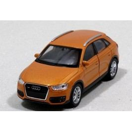 Welly - Audi Q3 model 1:34 bronzové auta