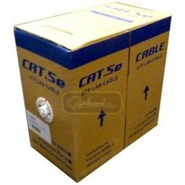 oem UTP kabel drát, Cat.5e, box 305m, PVC