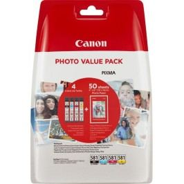 Canon cartridge INK CLI-581 BK/C/M/Y PHOTO VALUE BL SEC