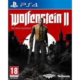 BETHESDA Hry HRA PS4 Wolfenstein II The New Colossus